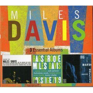 Miles Davis 3 Essential Albums (3 CD) Music CD