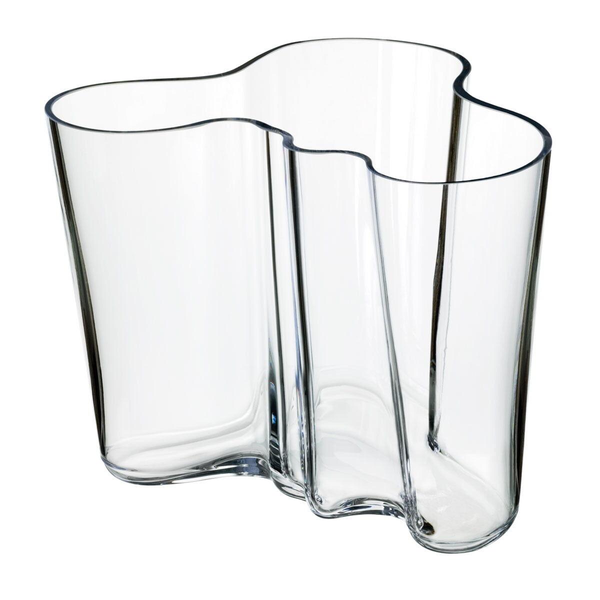 iittala - Aalto Vase Savoy 160 mm, clear