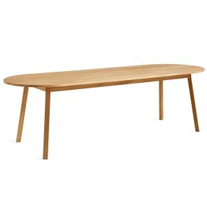 HAY - Triangle Leg dining table 250 x 85 cm, oak oiled