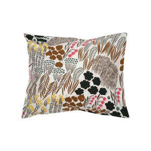 Marimekko - Pieni letto pillow case 80 x 80 cm, off-white / brown / green