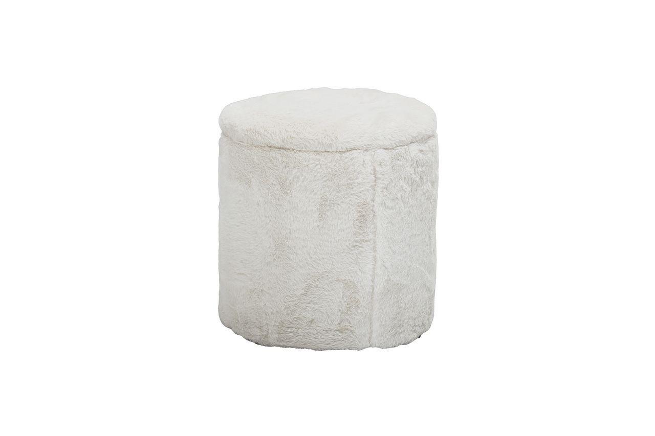 Bloomingville Barthe White pouf