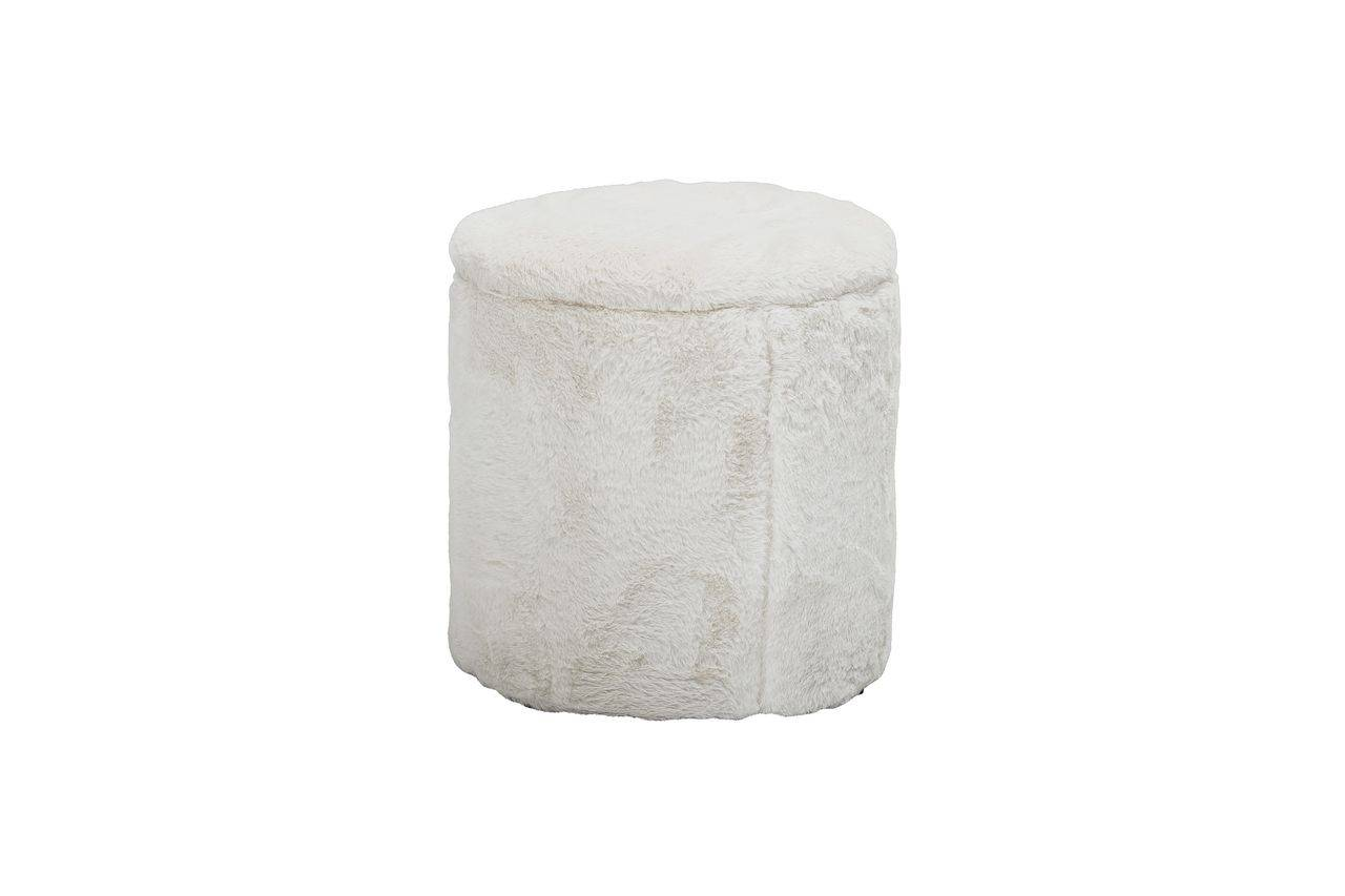 Bloomingville Barthe White pouf