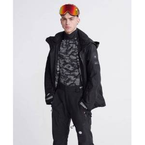 Superdry Snow Assassin Jacket in Black (Size: XXL)