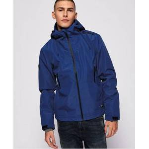 Superdry Hooded Elite SD-Windcheater Jacket in Blue (Size: S)