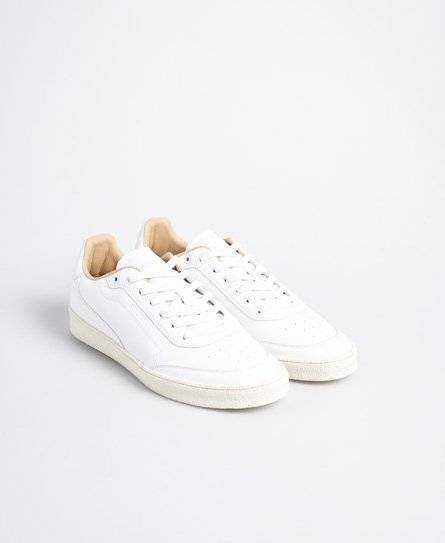 Superdry Sleek Trainers in White (Size: 11)
