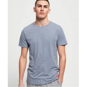 Superdry Organic Cotton SD Laundry Slim Fit Lounge T-Shirt in Grey (Size: XXL)