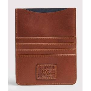 Superdry Leather Travel Wallet Set in Brown (Size: 1SIZE)