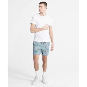 Superdry Sunscorched Chino Shorts in Light Blue (Size: L)