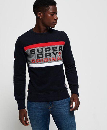 Superdry Trophy Sweatshirt in Navy (Size: XL)