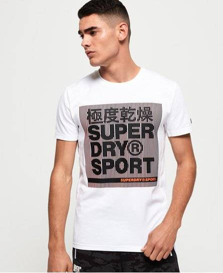 Superdry Core Graphic T-shirt in White (Size: L)