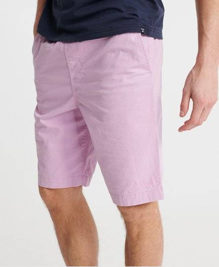 Superdry Worldwide Chino Shorts in Pink (Size: S)