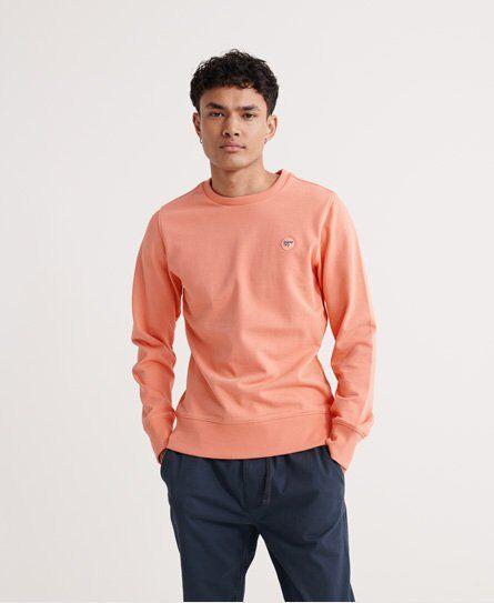 Superdry Collective Loopback Crew Sweatshirt in Orange (Size: XXL)