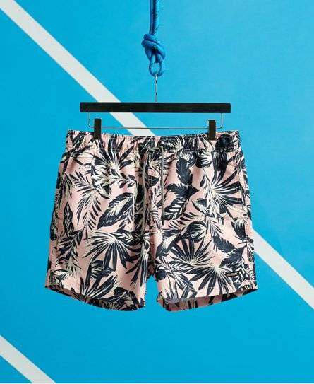 Superdry Edit Swim Shorts in Pink (Size: XXL)