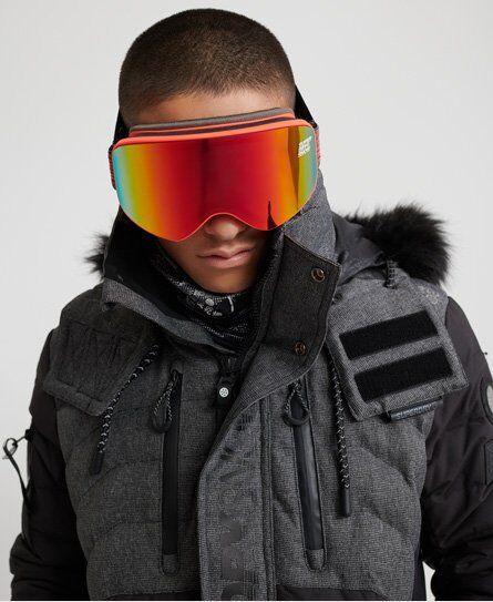 Superdry Sport Blizzard Snow Goggles in Orange (Size: 1SIZE)