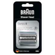 Braun Series 8 83M Electric Shaver Head Replacement - Silver