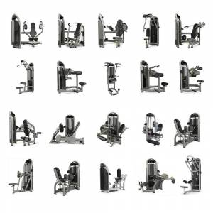 Matrix Fitness G3 Selectorised 20 Piece Strength Set - Commercial Gym