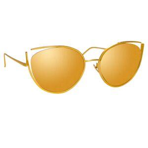 Linda Farrow Jeanne C1 Cat Eye Sunglasses