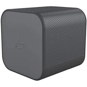 KitSound Cube Universal Portable Speaker Brand New - Gunmetal - Bluetooth
