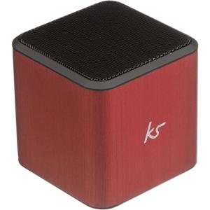 KitSound Cube Universal Portable Speaker Brand New - Red - Bluetooth