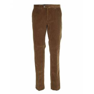 Etro Corduroy Trousers In Brown - Brown - Size: IT 52
