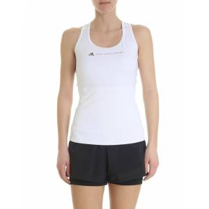 Adidas by Stella McCartney White Performance Essentials Top - White - Size: Large