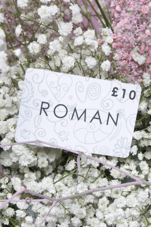 Roman Originals £10 Gift Card