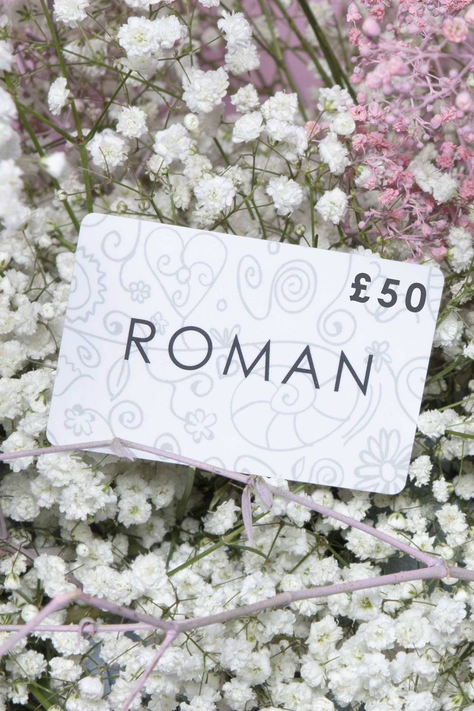 Roman Originals £50 Gift Card