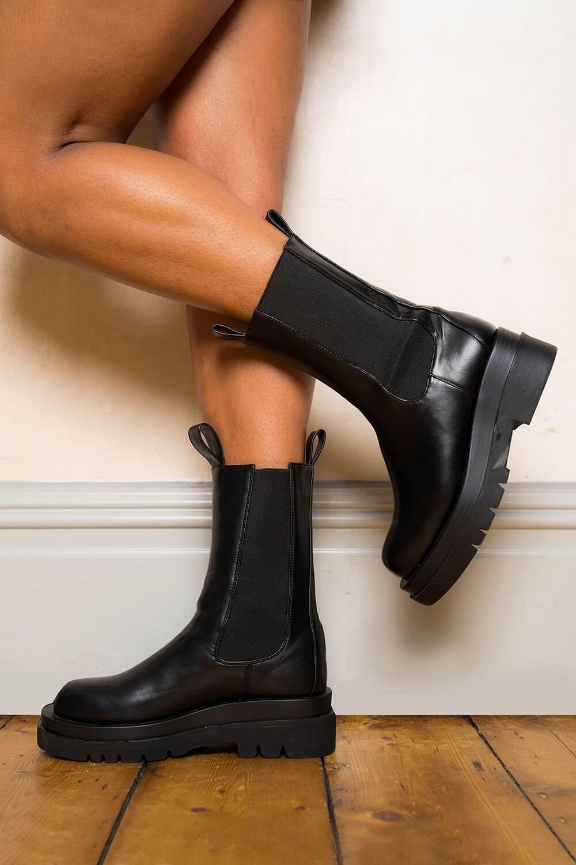 Roman Originals Chunky Platform Ankle Boot