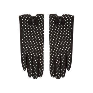Roman Originals Polka Dot Bow Gloves