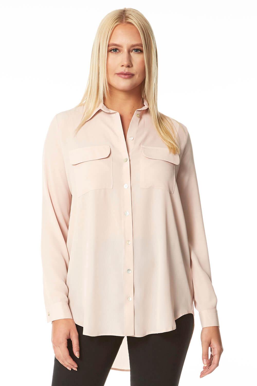 Roman Originals Utility Button Shirt with Pockets