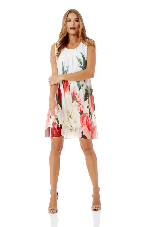 Roman Originals Floral Print Swing Dress