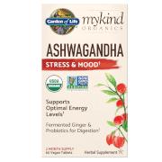 Garden of Life mykind Organics Herbal Ashwagandha - 60 Tablets