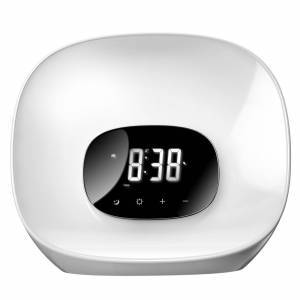 Groov-e Light Curve Wake Up Clock and Radio