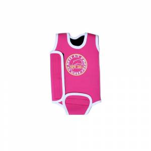 Surfit by Jakabel Baby Wrap Wetsuit Colour: Pink, Size: 6-12 months