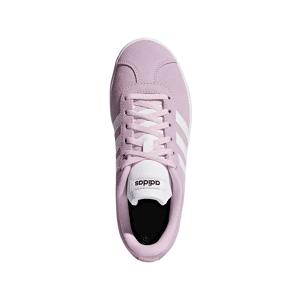 adidas VL Court 2.0 Girls Shoes Size: UK 4, Colour: Pink