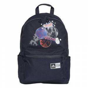 adidas Kids Spider-Man Graphic Backpack Colour: Ink, Size: One Size