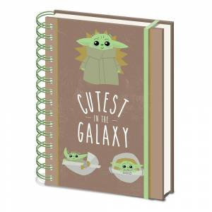 Pyramid Star Wars The Mandalorian Cutest In The Galaxy Notebook