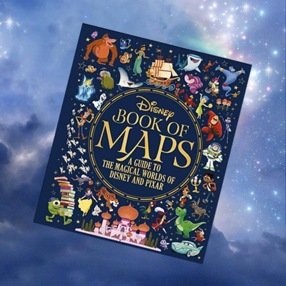 Bookspeed Disney Book of Maps: A Guide To The Magical Worlds Of Disney and Pixar