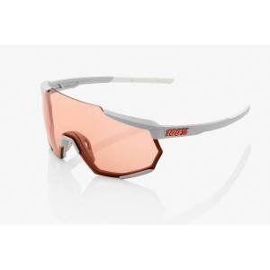 100% Sunglasses 100% Racetrap Glasses  - GREY/HIPER LENS
