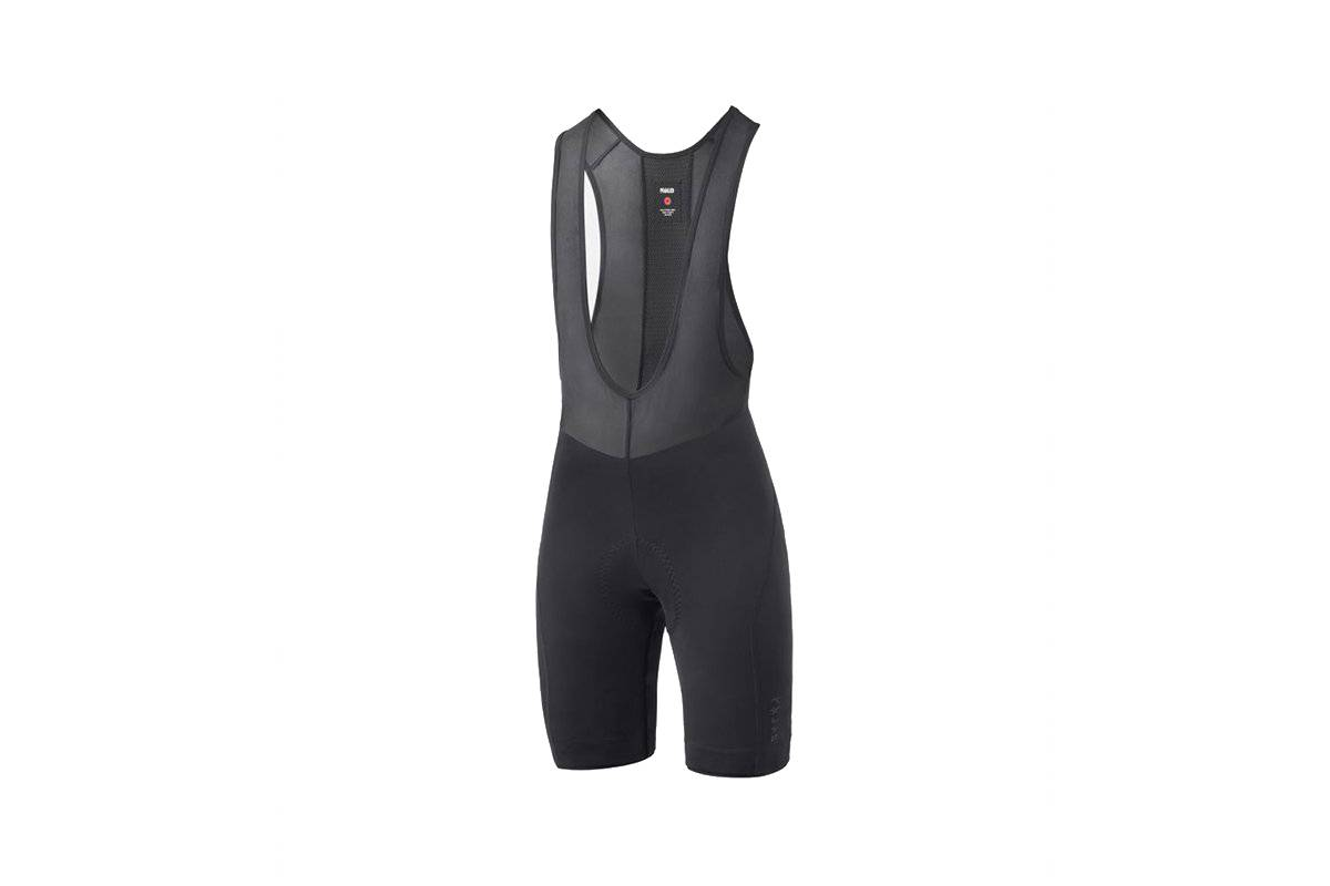 PEdAL ED PEdALED Essential Women's Training Bib Shorts  - BLACK - Size: Medium