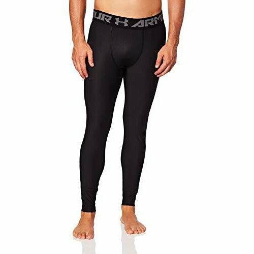 Under Armour Men?s Compression Tights UA HeatGear Armour 2.0, Comfortable Gym Leggings for Men, Lightweight Thermal Underwear with Tight Fit Design - Open Box