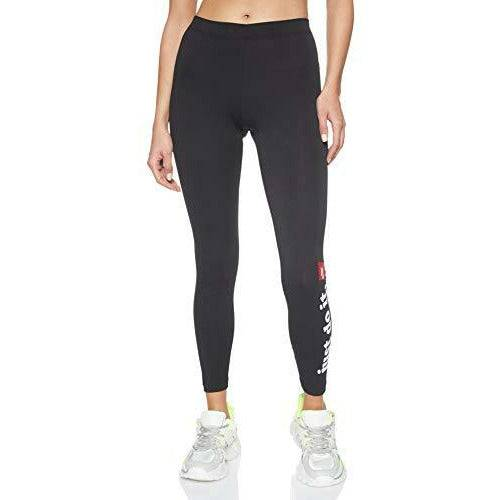 Nike Club Tights Women's Tights - Black/White, X-Small - Open Box
