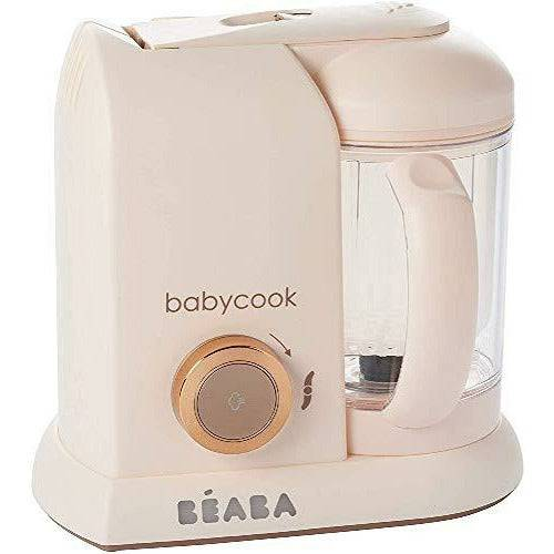 Béaba Béaba - Babycook Solo - 4-in-1 Baby Food Processer - Blender, Cooker and Steamer - Fast Steam Cooking - Delicious Homemade Food for Baby and Children - Food diversification for your Baby - Rose Gold - Very Good