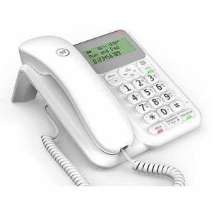 BT Decor Corded Telephone - White - Acceptable