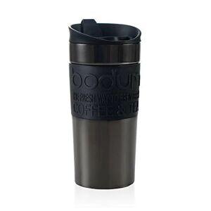 BODUM 11068-380S TRAVEL MUG Vacuum Travel Mug, 0.35 l, flip lid, Gun-metal - Acceptable