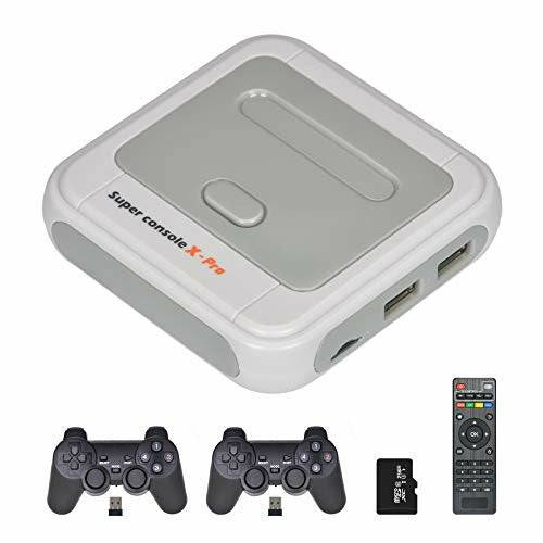 TAPDRA 256G Optional Super Console X Pro Games up to 50,000+ Video TV Game Console Wireless Controllers Game Station Kit - Like New