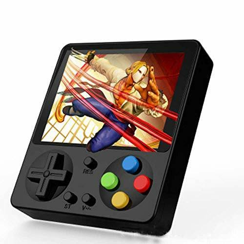 JIA JIA Handheld Game Console with 333 Retro FC Mini Game Consoles Support TV Synchronous Output Game 800Mah Battery Play for 8 Hours 3 Inch Color Screen,Black - Very Good
