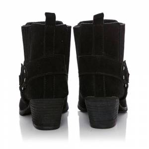 Moda In Pelle Adrianna Black Suede 40 Size: EU 40 / UK 7