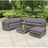Blakesley's Rattan corner sofa garden furniture set