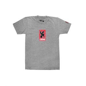 Chrome Industries Lock Up T-shirt - Heather Grey, XL